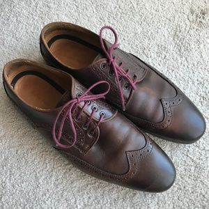 Men's Zara Brown Oxford Shoes